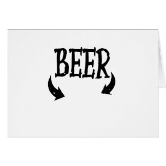 Funny Beer Baby  Mens Matching Pregnancy Card