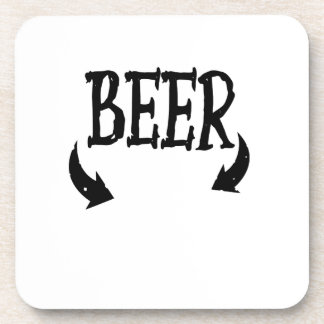 Funny Beer Baby  Mens Matching Pregnancy Coaster