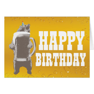 Funny Bear Birthday Gifts - T-Shirts, Art, Posters & Other Gift Ideas ...