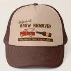 Funny Beer Brew Tow Truck Trucker Hat