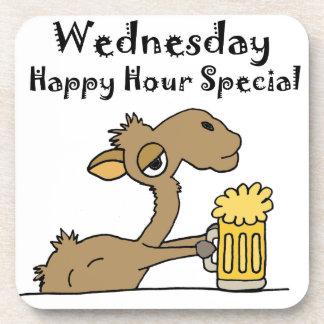 Funny Beer Drinking Camel Drink Coaster