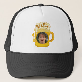 Funny Beer Me Drinking Humor | Personalized Photo Trucker Hat