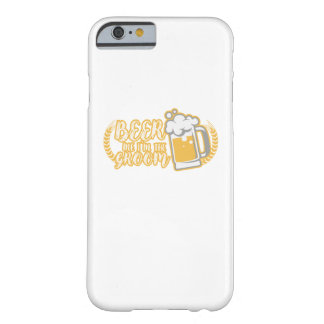 Funny BEER ME IM THE GROOM Married Gift Barely There iPhone 6 Case