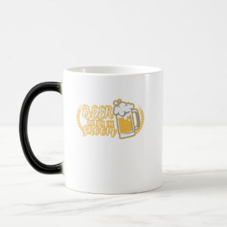Funny BEER ME IM THE GROOM Married Gift Magic Mug