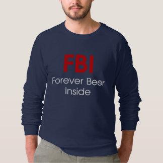 Funny beer Men's Raglan Sweatshirt HQH