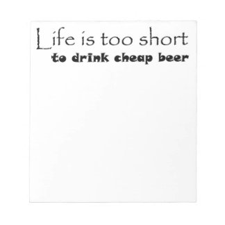 Funny beer quote notepads unique gift ideas gifts