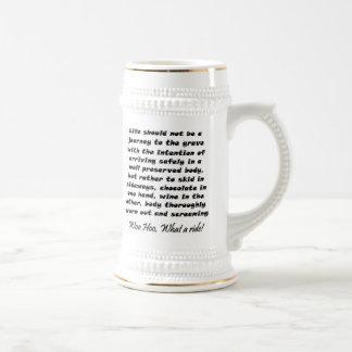 Funny beer steins mug birthday humor novelty gifts