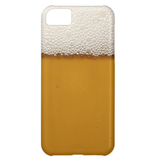 Funny Beer with Foam Printed iPhone 5C Covers