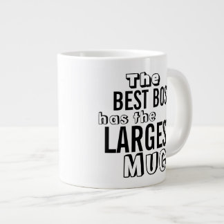Funny Best Boss Quote Large Big Mug - Office Humor Jumbo Mug