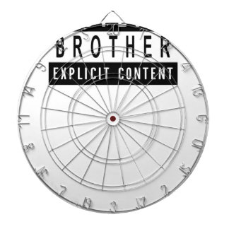 Funny Best Brother Ever T-Shirt Perfect Gift Dartboard