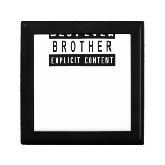 Funny Best Brother Ever T-Shirt Perfect Gift Gift Box