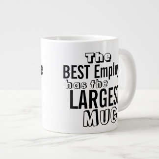 Find several custom templates online to create your jumbo mug. These mugs are large and printed in vibrant colors.