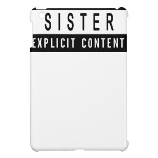 Funny Best Sister Ever T-Shirt Perfect Gift iPad Mini Covers