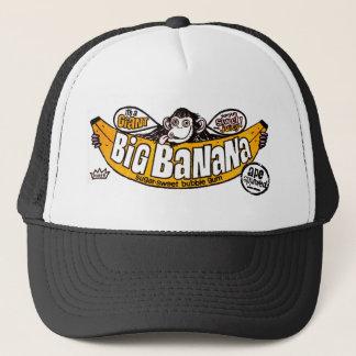 Funny big banana gum trucker hat
