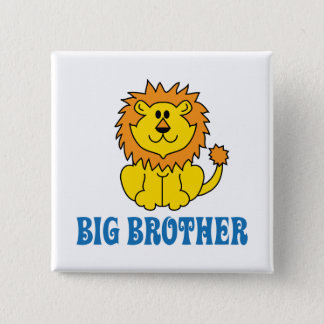 Funny Big Brother 2 Inch Square Button