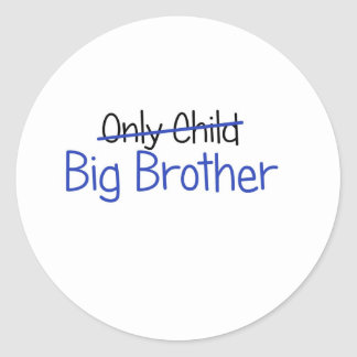 Funny Big Brother Design Stickers