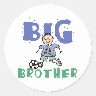 Funny Big Brother Round Sticker