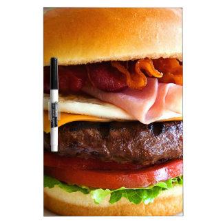 Funny big burger Dry-Erase board
