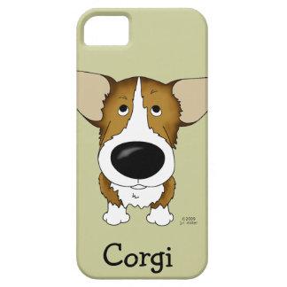 Funny Big Nose Corgi iPhone 5 Cases