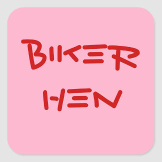 FUNNY BIKER CHICK STICKERS