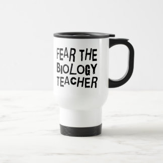 Funny Biology Teacher Travel Mug