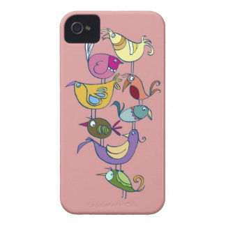 Funny bird iPhone 4 cover