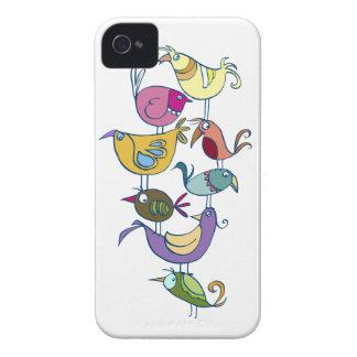 Funny bird iPhone 4 Case-Mate case