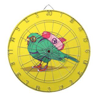 Funny bird dartboard