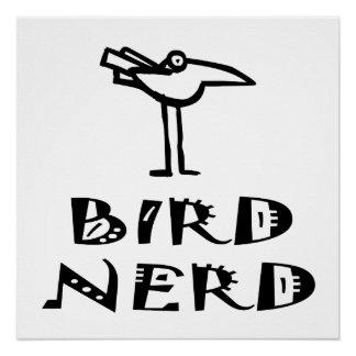 Funny Bird Nerd Birdwatching Birding Birder Perfect Poster