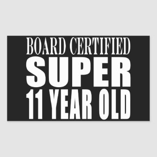Funny Birthday B. Certified Super Eleven Year Old