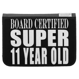 Funny Birthday B Certified Super Eleven Year Old Kindle 3G Cover