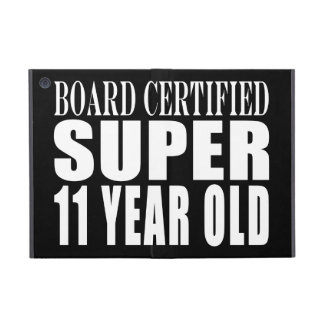 Funny Birthday B Certified Super Eleven Year Old Case For iPad Mini
