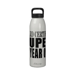 Funny Birthday B Certified Super Eleven Year Old Drinking Bottle