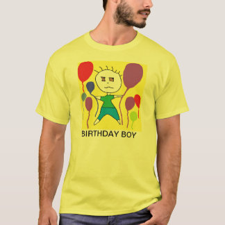 FUNNY BIRTHDAY BOY SHIRTS FOR MEN