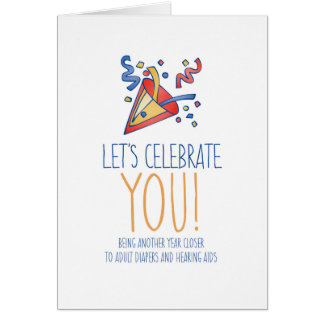 Funny Birthday Card For Anyone