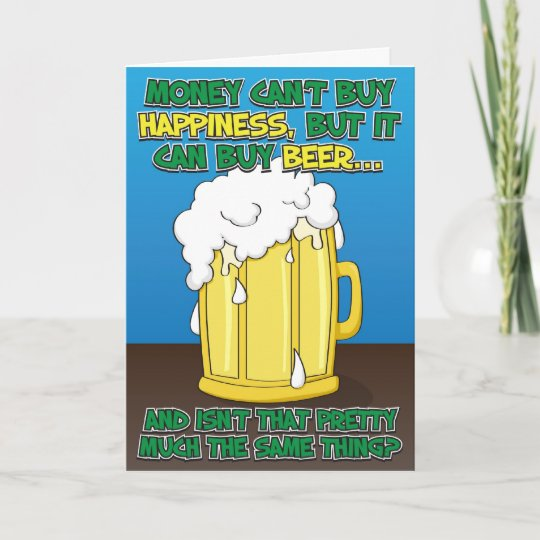 Funny Birthday Cards For Men.Funny Birthday Card For Man Beer