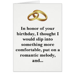 Funny birthday for wife cards photocards invitations more funny birthday card husband or wife bookmarktalkfo Gallery