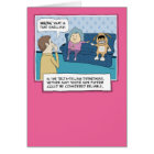 Funny birthday card: What's That Smell? Card