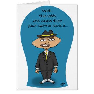 Funny Birthday Cards: Mobster Birthday Card