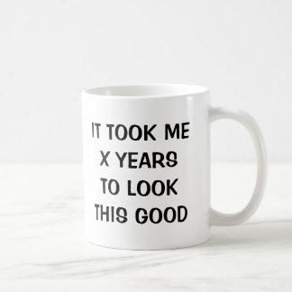 Funny Birthday gag coffee mug for men and women