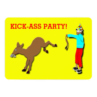 Funny Birthday Party Invites