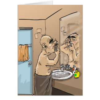 Funny Birthday Wishes - Hairy Situation Card