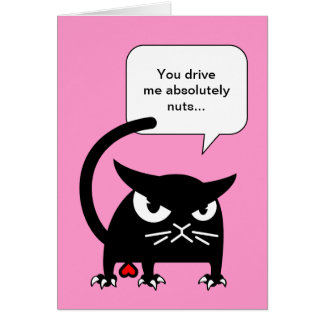 cat themed valentines day cards  purrfect love  the cat lovers