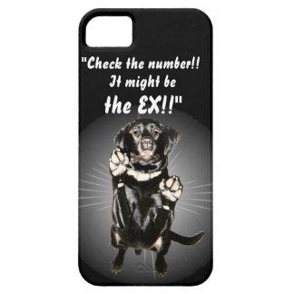 Funny Black Lab iPhone case