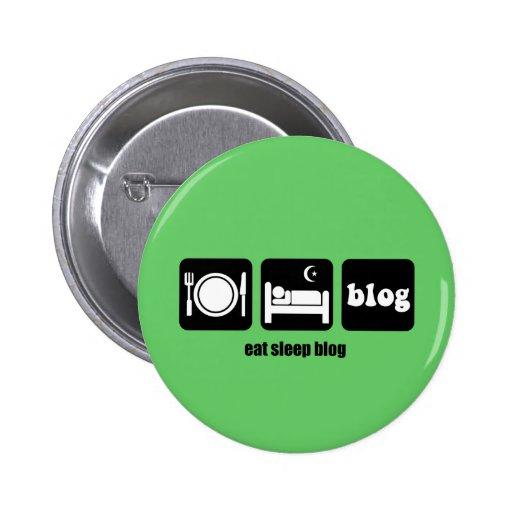 Funny blogging button