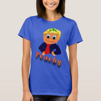 Funny blond peach T-Shirt