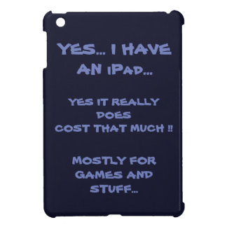 Funny Blue iPad Case