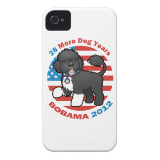 Funny Bobama the Dog 2012 Elections iPhone 4 Cases