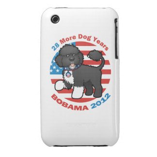 Funny Bobama the Dog 2012 Elections Case-Mate iPhone 3 Case