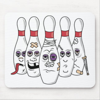 Funny Bowling Mouse Pad